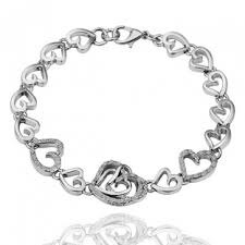 bracelet with hearts images Heart bracelets and more fashion jewelry sale online shop bellast jpg