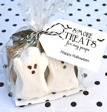 free printable halloween treat bag labels smore treats for my peeps bloom designs