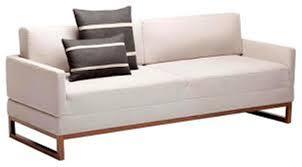 modern sleeper sofa orange modern sleeper sofa bed mattress