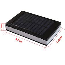 solar battery powered 5050 rgb led light kit usb power