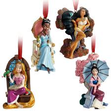 limited edition 10 princess ornament set disney princesses