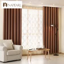 aliexpress com buy modern curtain plain solid color blackout