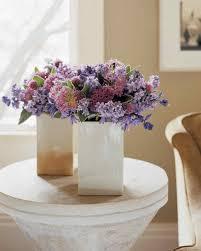 Dark Purple Vase Purple Flower Arrangements Martha Stewart