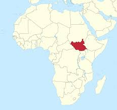 Map Of Rivers File South Sudan In Africa Claimed Mini Map Rivers Svg