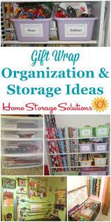 gift wrap storage ideas gift wrap organization ideas of fame