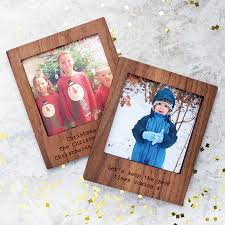 personalised wooden magnetic frame with stand by create gift