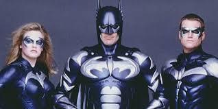 george clooney keeps a photo of himself as batman u0027as cautionary