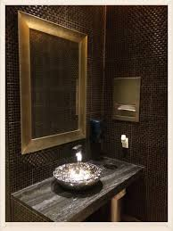 earth tone bathroom designs restaurant bathroom design incorporates the feng shui principles
