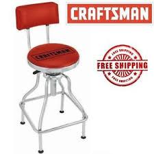 shop bar stool new craftsman counter stool garage shop bar chair adjustable