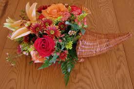 cornucopia centerpiece cornucopia centerpiece with flowers thanksgiving