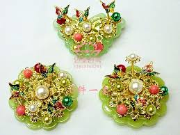 korean joseon dynasty dwikkotyi hair ornaments asian