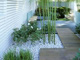 landscaping with white rocks google search gardening