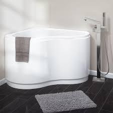 49 kenora acrylic corner tub bathtubs bathroom