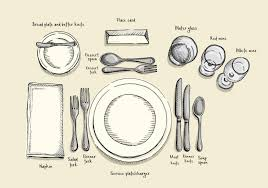 rules for setting your holiday table and why they matter