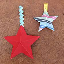 make 3d paper stars with american crafts papers youtube