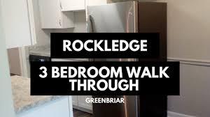 rockledge apartments 3 bedroom walk through youtube