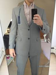 light gray suit brown shoes brown shoes with this medium gray suit with black buttons