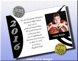 personalized graduation announcements traditional high school graduation invitations kawaiitheo