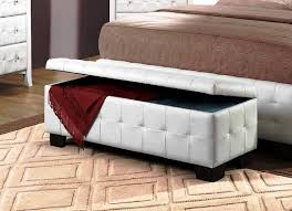 excellent leather storage bench how to clean leather storage