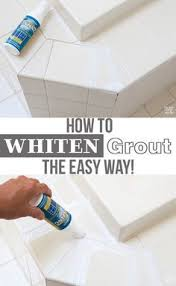 Cleaning Old Tile Floors Bathroom by Making Old Discolored Grout Look Like New Grout House And Grout