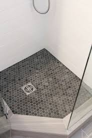 Ideas For Tiling Bathrooms by Best 25 Shower Floor Ideas Only On Pinterest Master Shower