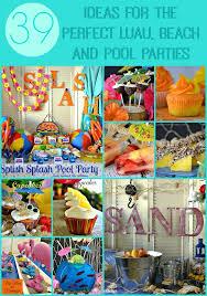 luau party tropical mango gooey butter cake