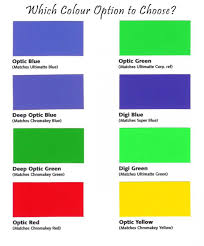 what color matches green blue colour in chroma chroma shoot chroma video editing institute
