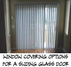 sliding glass door covering options super easy home update replace those sliding blinds with a