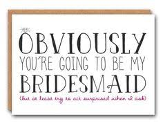 to be card will you be my bridesmaid card bridesmaid card of