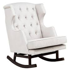 furniture white upholstered gliders for nursery black nursery