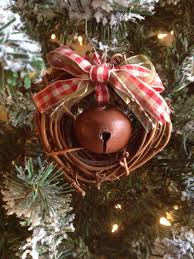 dollar tree small grapevine wreaths tie a rustic bell to dangle