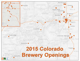 Fort Collins Colorado Map by 2015 Colorado Brewery Openings
