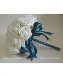 Teal Roses Teal Wedding Flowers