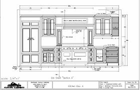 Kitchen Details And Design Home Design Kitchen Cabinets Decor Custom Modern Cabinet Drawing