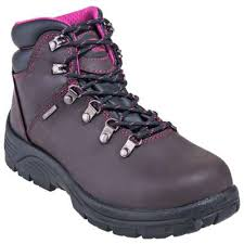 womens steel toe boots near me avenger boots s a7125 brown waterproof eh steel toe slip