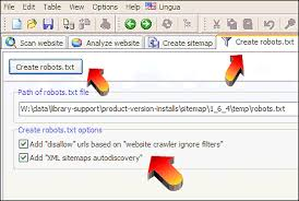 Sitemap Robots File For Disallow Urls And Xml Sitemaps Autodiscovery