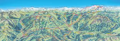 Swiss Alps Map Swissvacations Gstaad Attractions And Activities