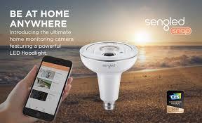 sengled camera light bulb sengled snap led be at home anywhere camera and floodlight