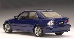 lexus i300 autoart 2000 lexus is300 blue lhd 78702 in 1 18 scale