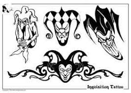 tribal joker tattoo design ideas images totally awesome wedding
