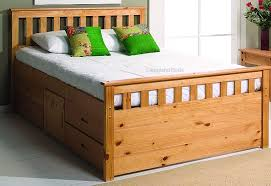 King Size Bed Storage Frame King Size Bed Frame With Storage Bed Frame Katalog B831e9951cfc