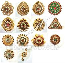 antique gold rings images Indian kundan polki rings one gram gold ring antique rings jpg