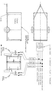 trailer wiring diagram 4 wire circuit trailer ideas pinterest