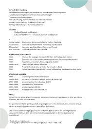 Lebenslauf Vorlage Excel Lebenslauf Vorlage Kompetenzen Mit Berufliche Qualifikationen