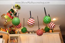 hanging tree from ceiling lights decoration