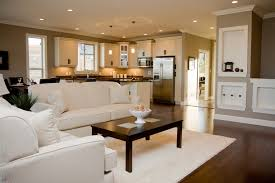 Tuscan Style Flooring by White Sofa And Couch Also Soft Carpet And Wooden Laminating