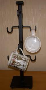 wrought iron mug tree ac25 45 00 catalog gift shop hammer