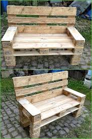 Patio Furniture Out Of Wood Pallets by Ideas To Give Wood Pallets Second Life Pallets Shipping Pallets