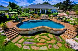 furniture agreeable backyard landscaping ideas swimming pool