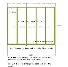 floor plans for sheds 8x10 shed floor plan nolaya